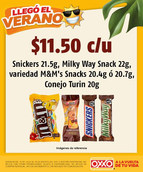 Snickers Milky Way  Variedad MMs Conejo Turín