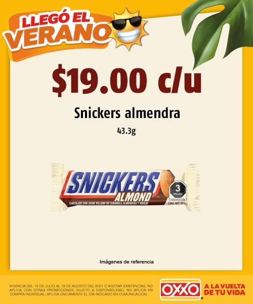 Snickers Almendra