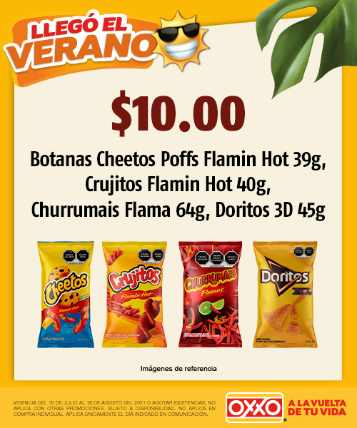 Botanas Cheetos Crujitos Churrumais Flam Doritos