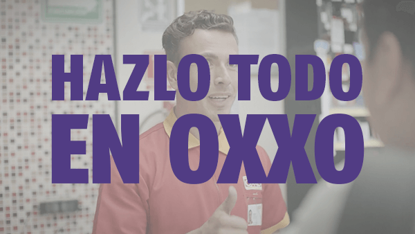 Hazlo todo en OXXO